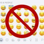 Emoji page rejected