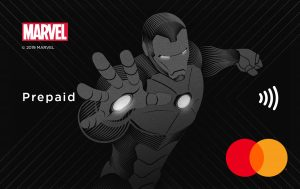 Marvel Ironman Mastercard